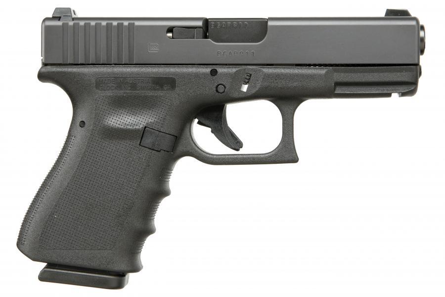 Glk 19 9mm Pst 15rd Gns