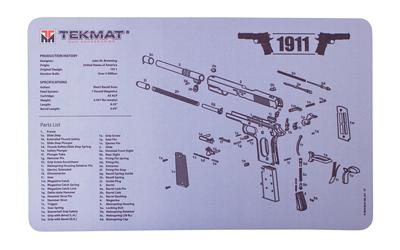 Tekmat Pistol Ds Mat 1911 Blk/gry