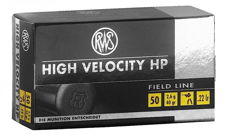 RWS 22lr 40gr High Velocity Hollow