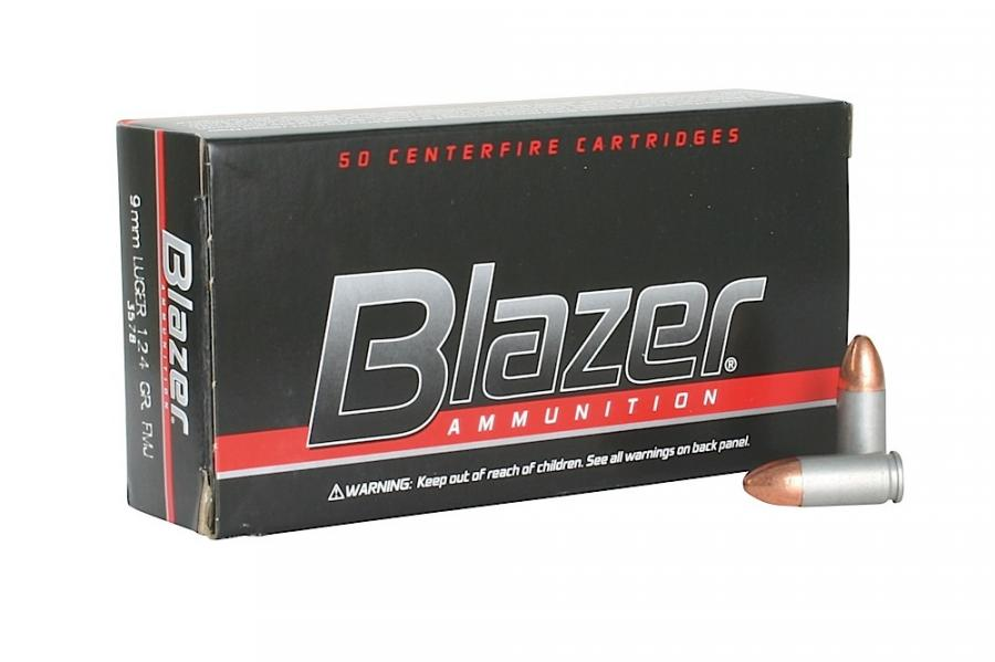 CCI Blazer 9mm Full Metal Jacket