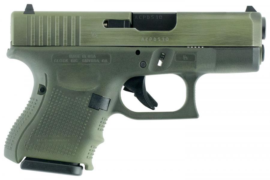 "Glock 26 Gen4 9mm 3.42"" 10+1"