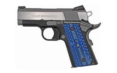 """Colt Defender 9mm 3"""" Tt 8rd"""