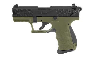 "Wal P22q 22lr 3.42"" Mltry Grn"