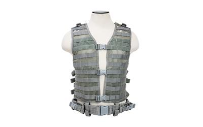 Ncstar Vism Molle Vest Med-2xl Dgtl | Federal Firearm