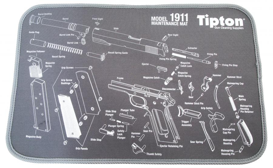 Tip 1911 Maintenance Mat