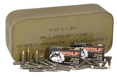 Wolf Hollow Point 223 Remington/5.56 Nato