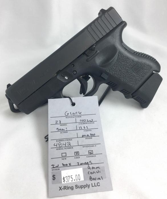 Glock 27 .40s&w (a-4842)
