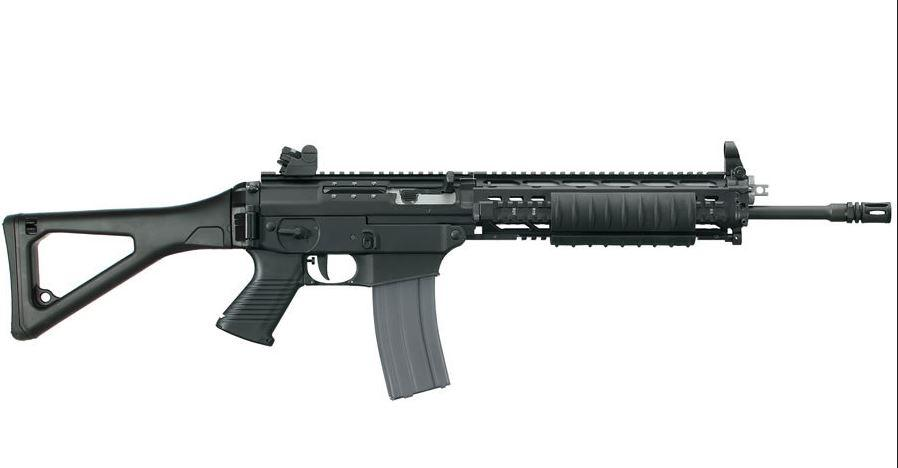 SIG 556 Swat Consignment With Quad Rail Iron