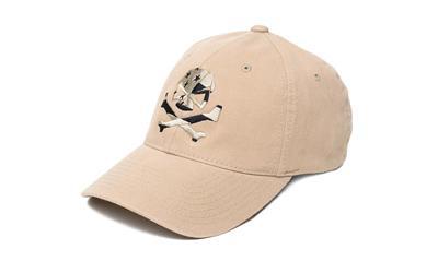 Phu Skull Flag Flex Hat Tan