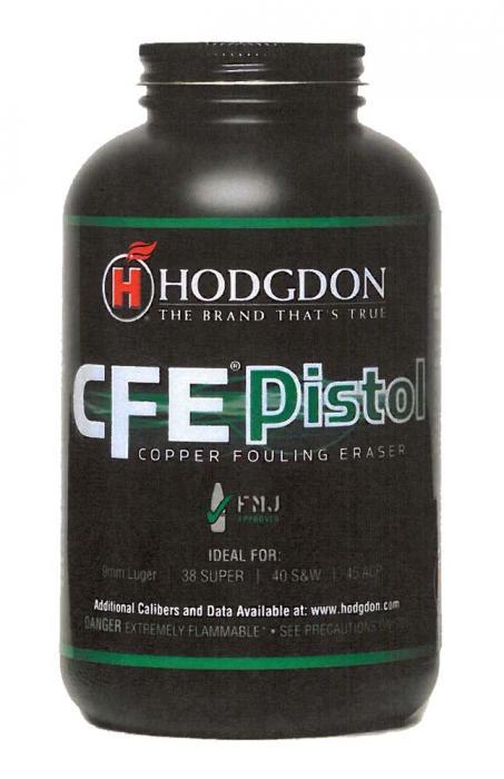 Hodgdon Copper Fouling Eraser CFE Pistol