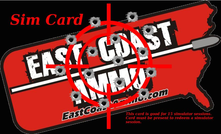 East Coast Ammo Sim Card
