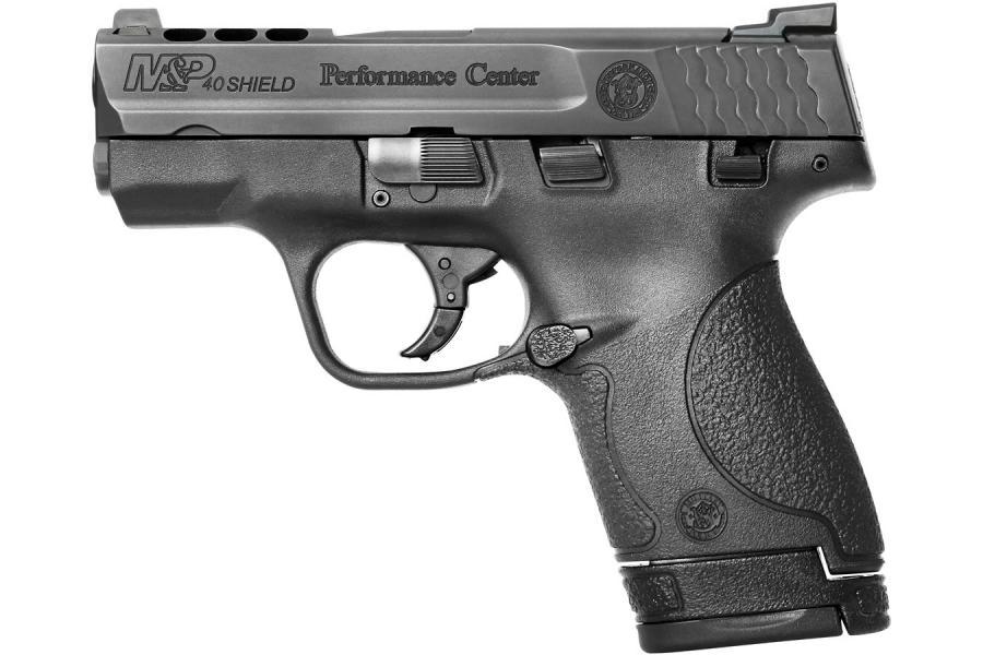 S&w Pc Shield 40sw 6&7rd Prtd
