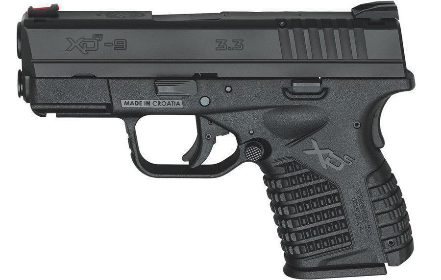 "Springfield XDS 9mm 3.3"" Blk 7rd"