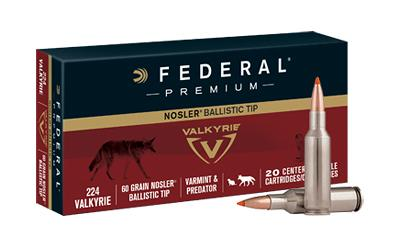 Federal Premium 224vlk 60gr Blstc Top