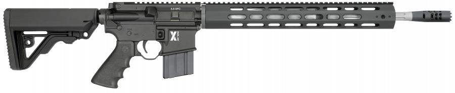 Lar-6 X-1 Rifle, Black With Operator