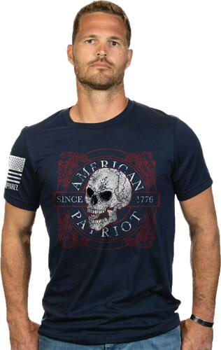 Nine Line Apparel Amer Skull