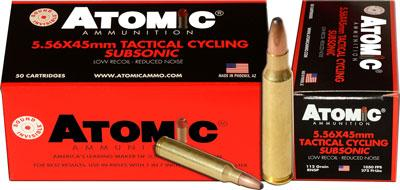 Atomic Tactical Cycling Subsonic 5.56 Nato