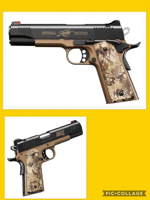 Kimber Hero Custom 45acp Special Edition