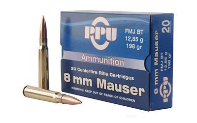 Ppu 8mm 198gr Fmj