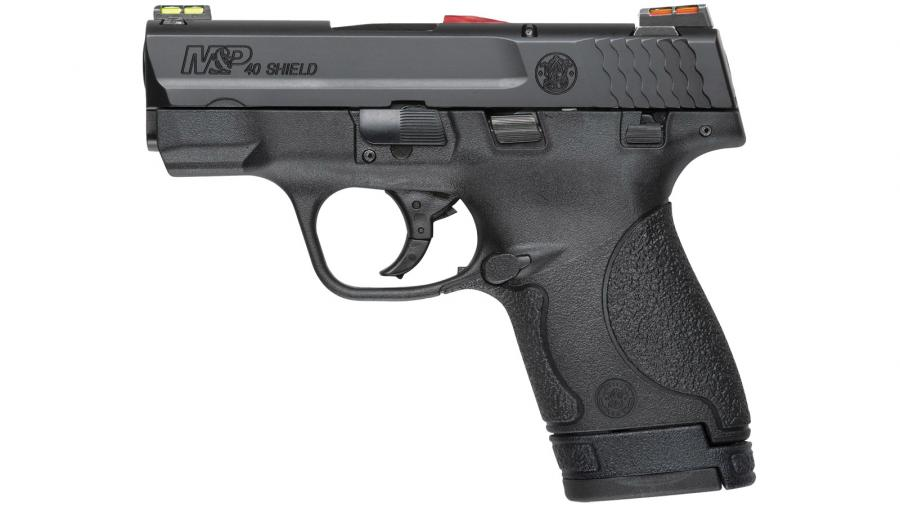 "S&w Shield 40sw 3.1"" Blk 7rd"