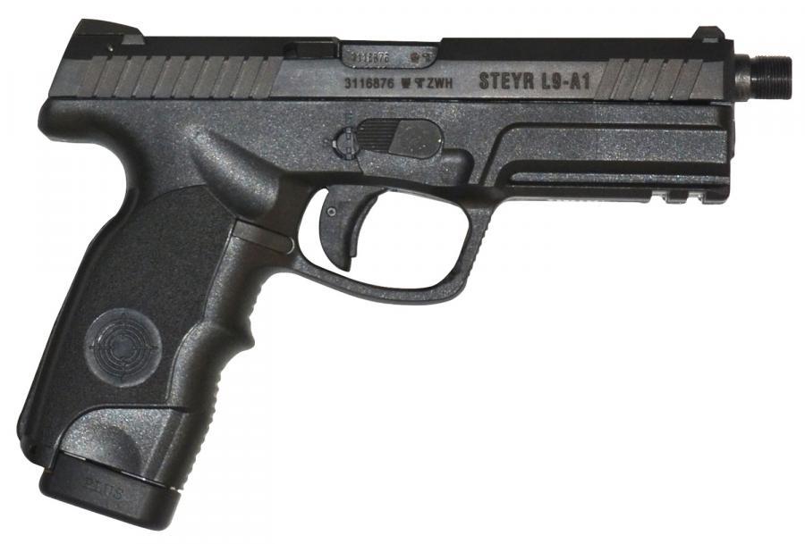 Steyr L9-a1 TB 9mm 17rd Blk