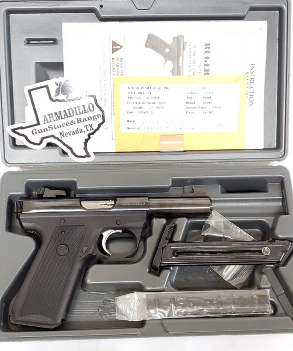 Ruger Miii Short Barrel 22lr Pistol-