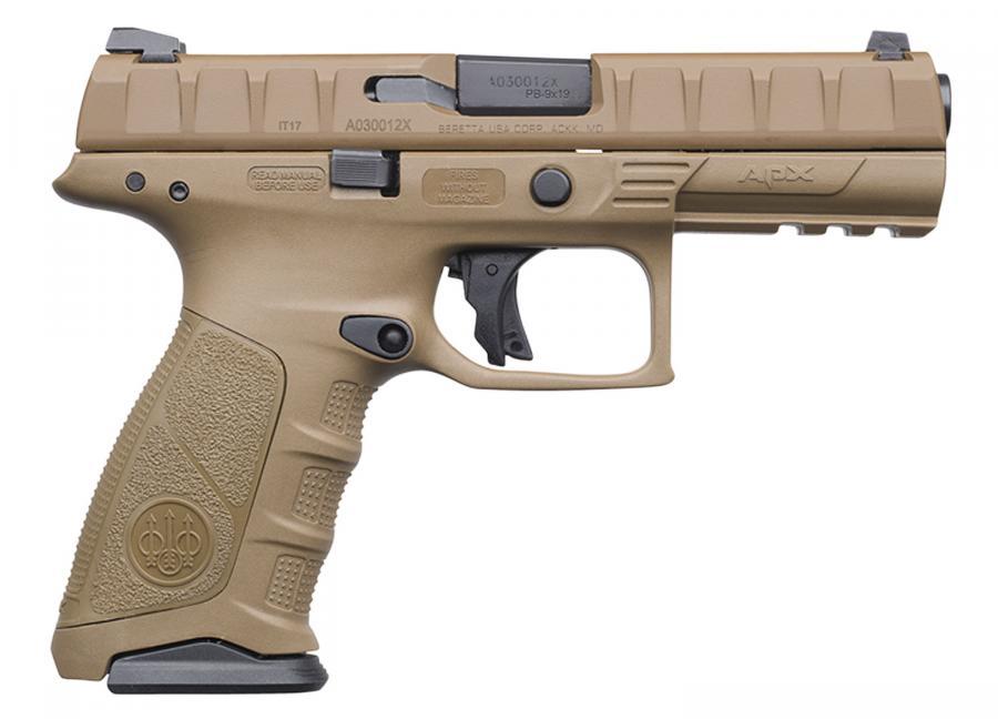 Beretta APX 9mm Flat Dark Earth