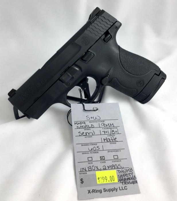 S&W M&p9 Shield 9MM (a-2754)