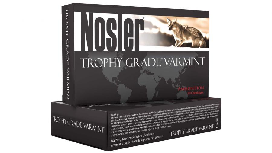 Nosler .22 Nosler 55gr BT Trophy