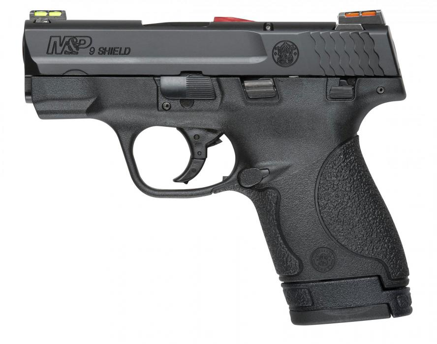 "S&W Shield 9mm 3.1"" Blk 8rd"