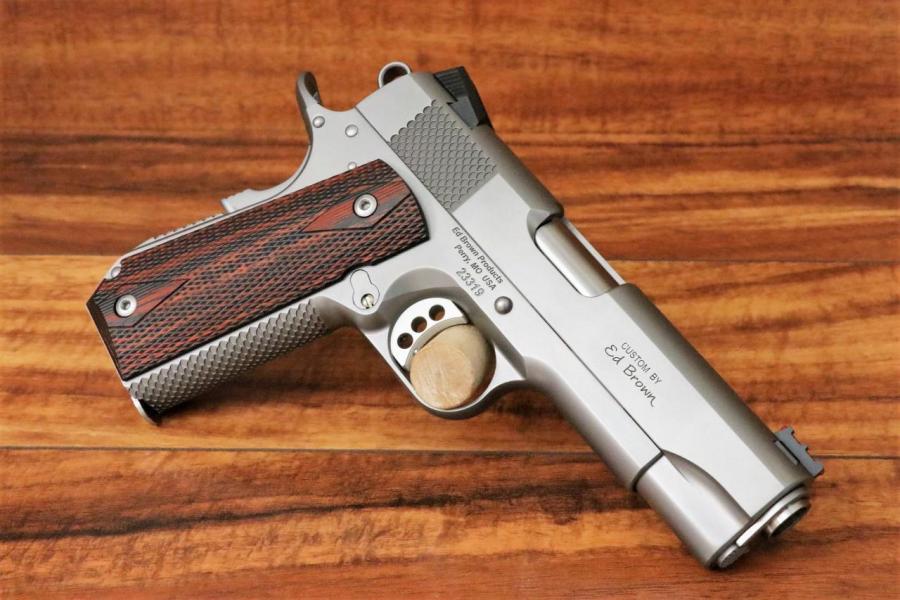 Ed Brown Kobra Carry Stainless .45
