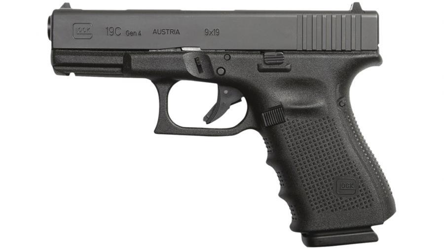 """Glk G19c Gen4 9mm 4"""" 15rd"""