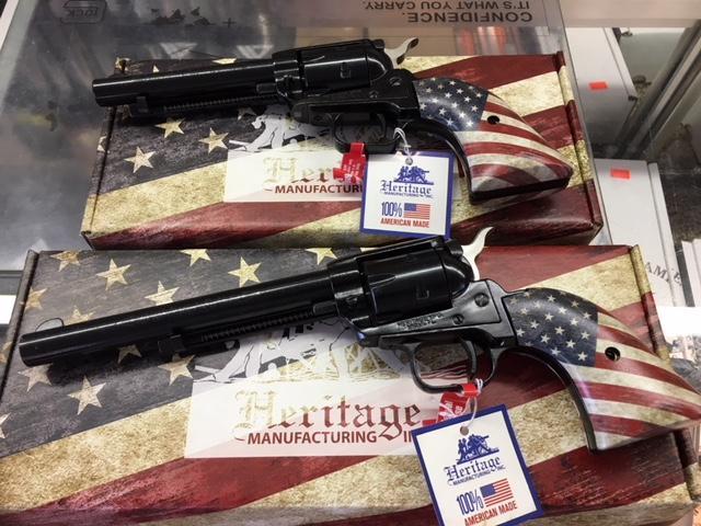 """Heritage 22lr 6"""" US Flag"""