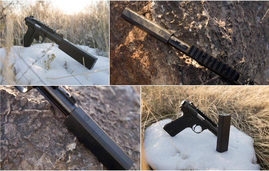 Ruger Mark IV With Silencerco Osprey