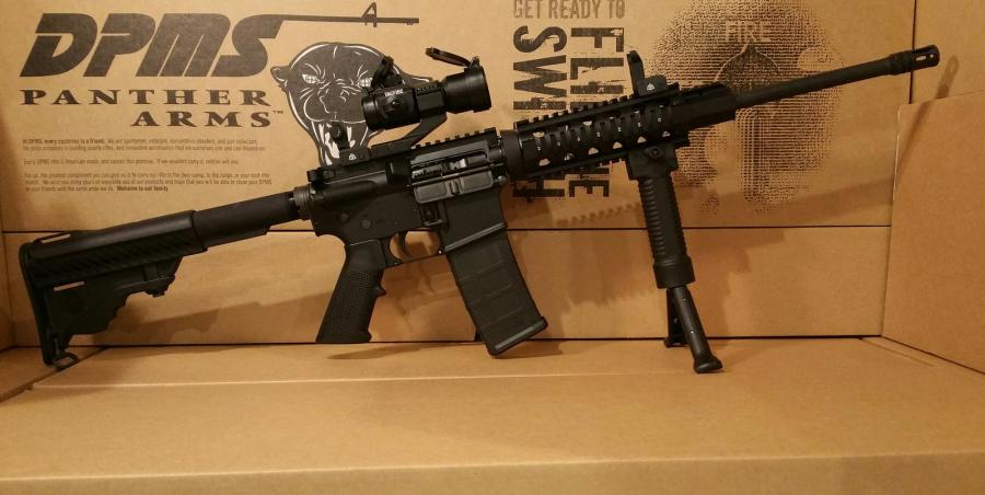 Dpms Panther Oracle With Quad Rail