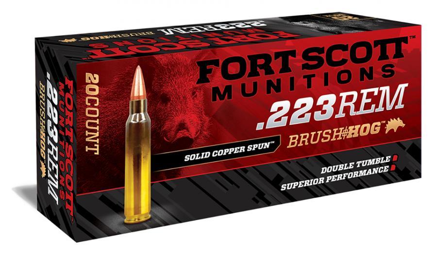 Fort Scott 55gr Brush hog .223