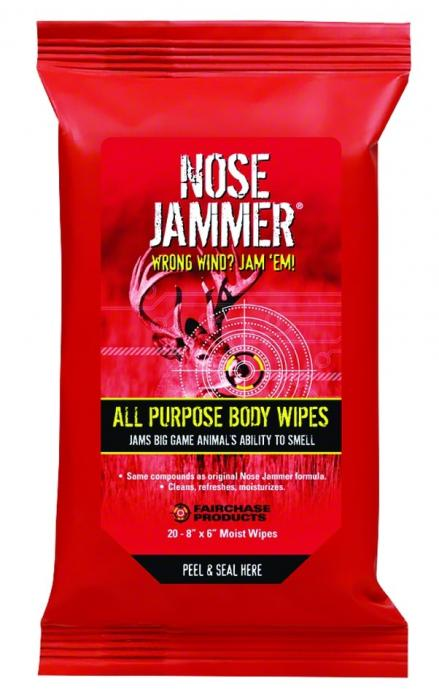 Nose Jammer ALL Purpose Body Wipes