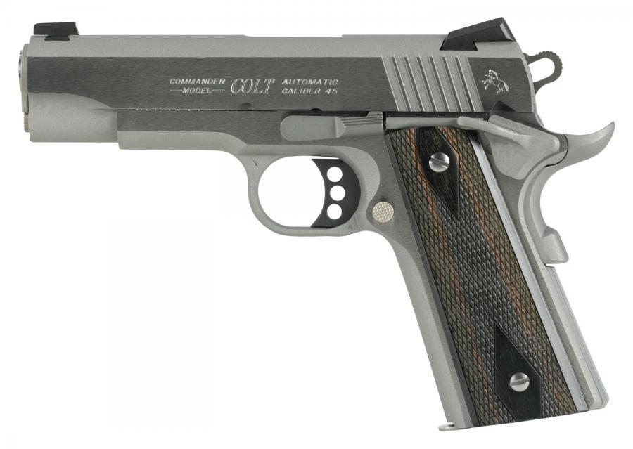 """Colt Combat Commander 45acp 4.25"""" 8rd"""