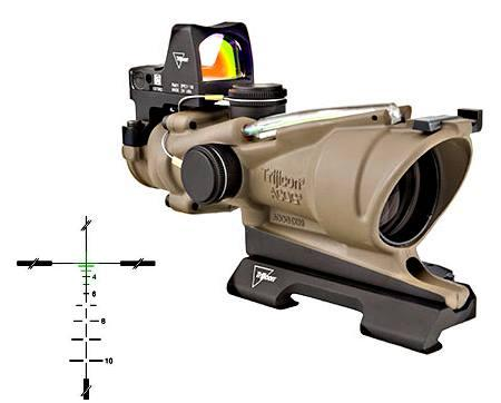 Acog 4x32 Fde Bal Green 5.56mm