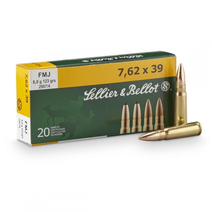 Sellier & Bellot 7.62x39 Non-corrosive 20cartridges
