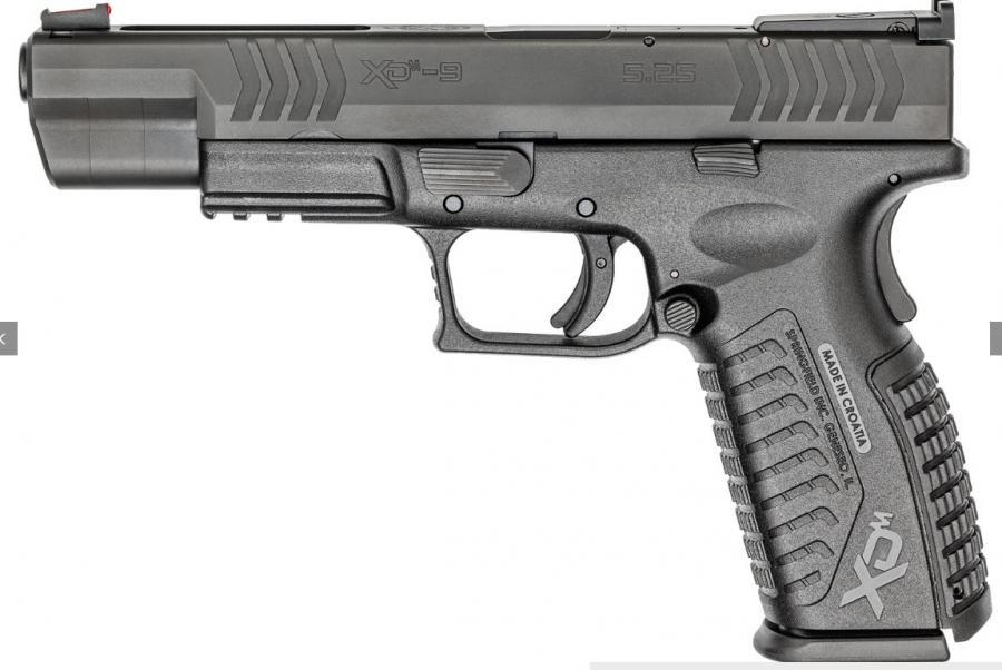 Xdm Comp 9mm Blk 5.25 10+1