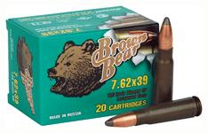 Brown Bear 7.62x39 125gr. Sp
