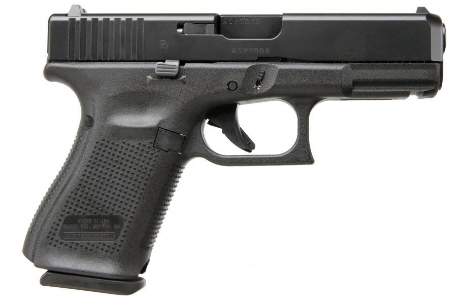 """Glock G19 Gen5 9mm 4"""" 10rd"""