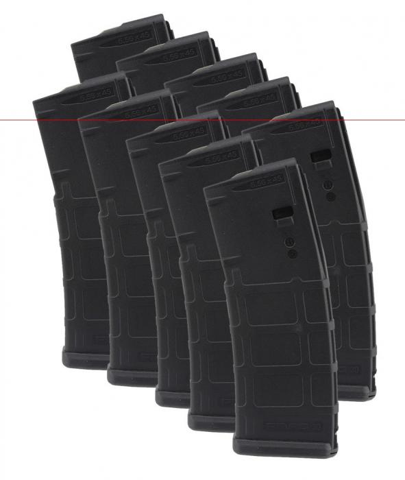 10 Pack 30 Rd Magpul M2