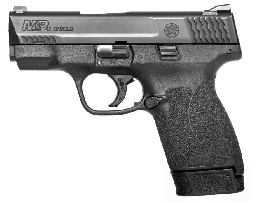 "S&w Shield 45acp 3.3"" Bl 6&7r"
