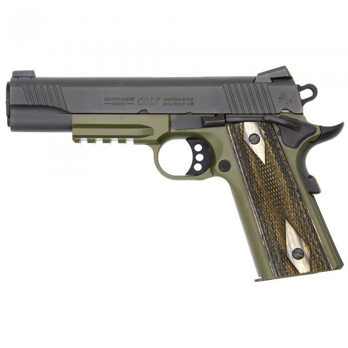 Colt Rail Gun Black/green (45acp)