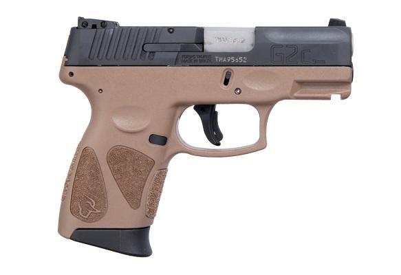 Taurus G2C 9mm Pst 12rd Brn