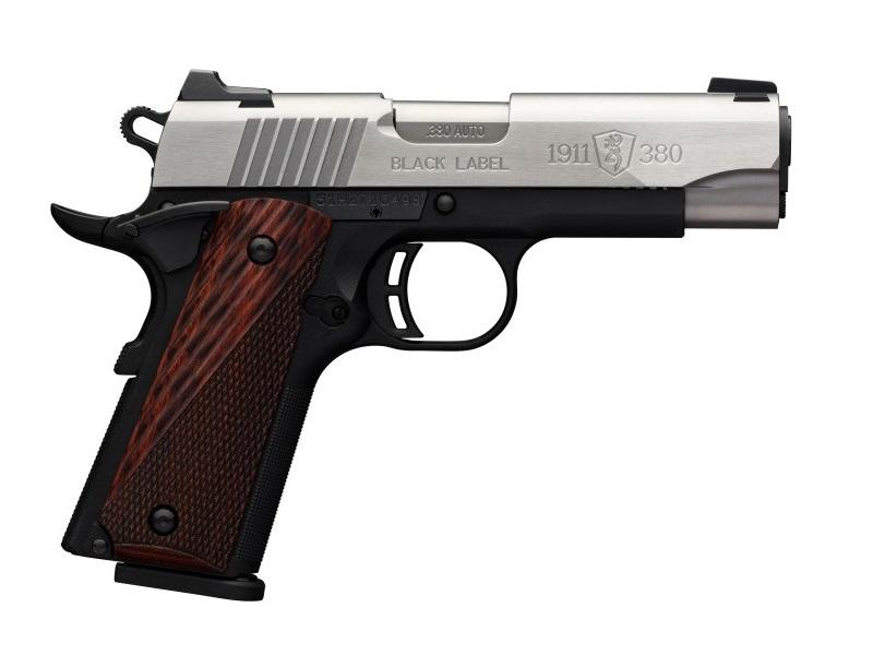 Browning 1911-380 PRO Medallion Cpt 380acp