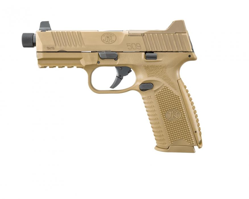 "Fn 509 Tactical 4.5"" 9mm 10rd"
