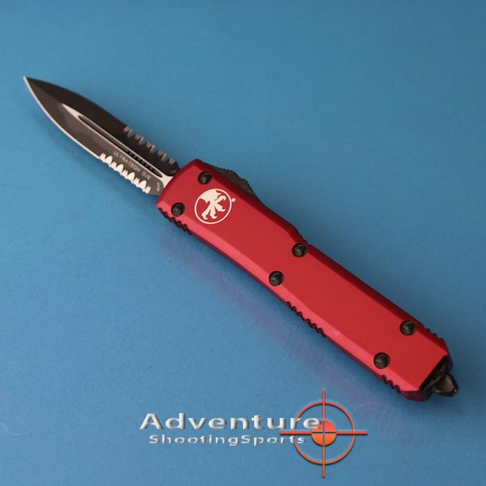 122-2rd Microtech Ultratech D/E P/S Red